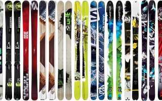 Как выбрать горные лыжи для начинающих