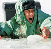 Что означает провалиться под лед во сне