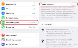 Как раздать интернет с айфона на ноутбук