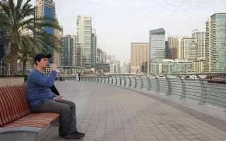 Какая температура воды в Дубае в марте