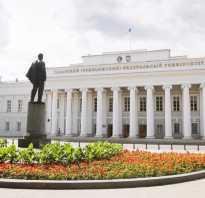 Какие ВУЗы есть в Казани