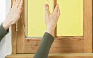 Как вставить стекло в окно