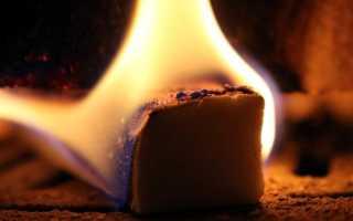 Может ли настоящий шоколад гореть