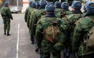 Когда начинается зимний призыв в армию