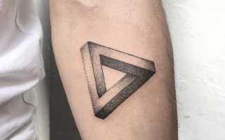 Что означает тату роза в треугольнике
