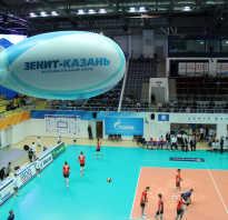 Какая высота волейбольной сетки для мужчин