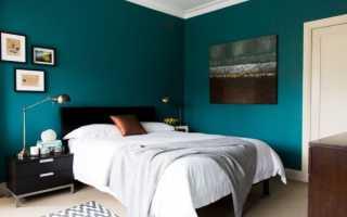 В какой цвет лучше всего покрасить спальню