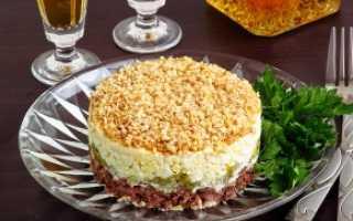 Какой салат приготовить из вареной говядины