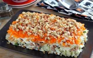 Как приготовить салат с рыбой