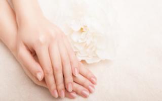 Чем отбелить ногти в домашних условиях