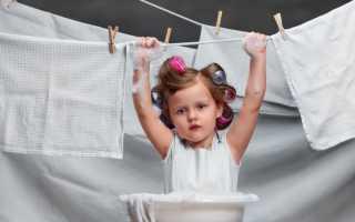 Как полоскать белье