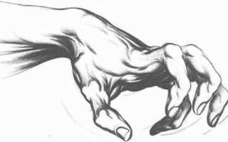 Как научиться рисовать руки