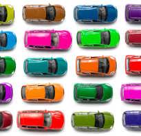 Какой самый популярный цвет автомобиля
