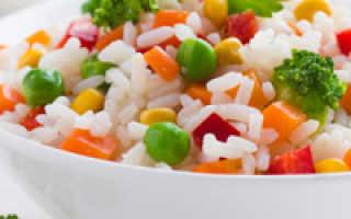 Как приготовить рис на гарнир