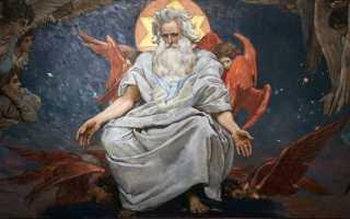 Кто отец Иисуса Христа